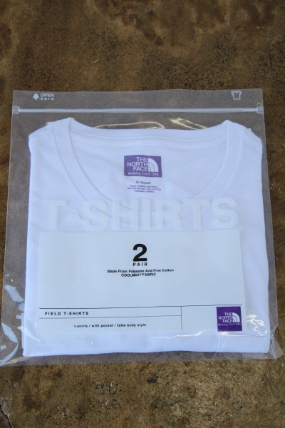 THE NORTH FACE PURPLE LABEL COOLMAX® Pack Tee